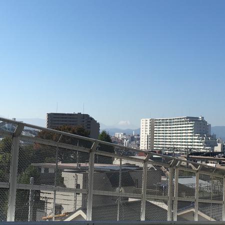 富士山見えるかな?