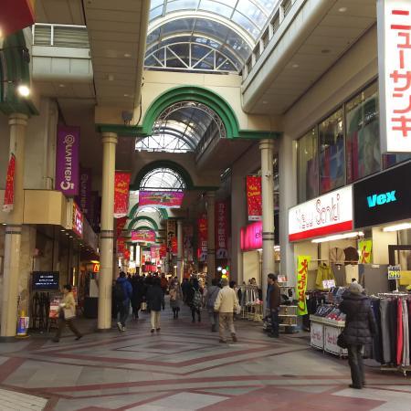 柏駅前商店街