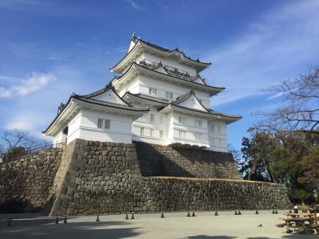 改修後の小田原城