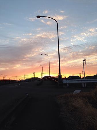 栃木は、朝焼け、夕日が感動的