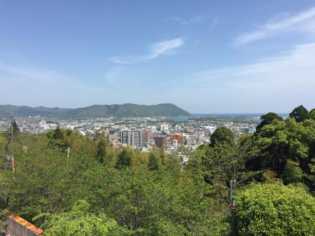 今山からの風景