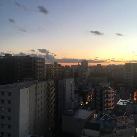 丹沢の見える街