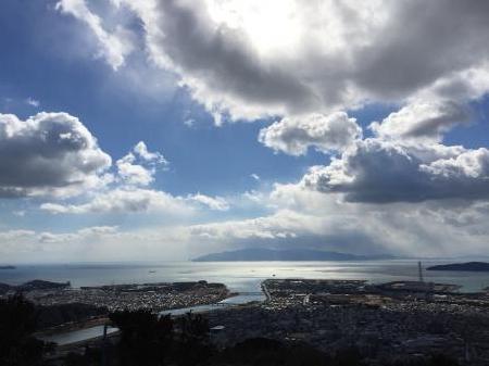 雄鷹台山からの風景