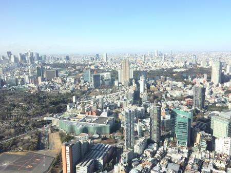 52階からの風景
