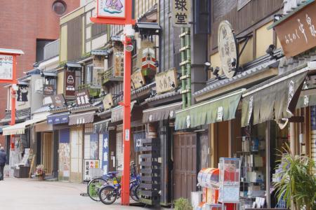 浅草の下町風景
