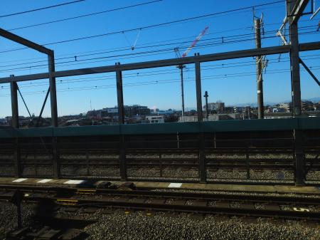 駅からの風景