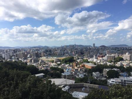 福岡市一望