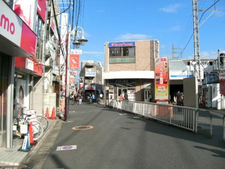 上石神井駅北口前
